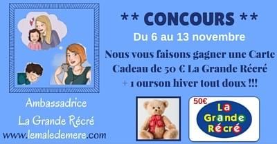 CONCOURS LA GRANDE RECRE